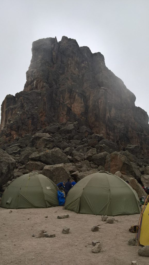 Our dining rooms at the top of Lava Tower.