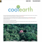 More about Cool Earth the charity I'm supporting.