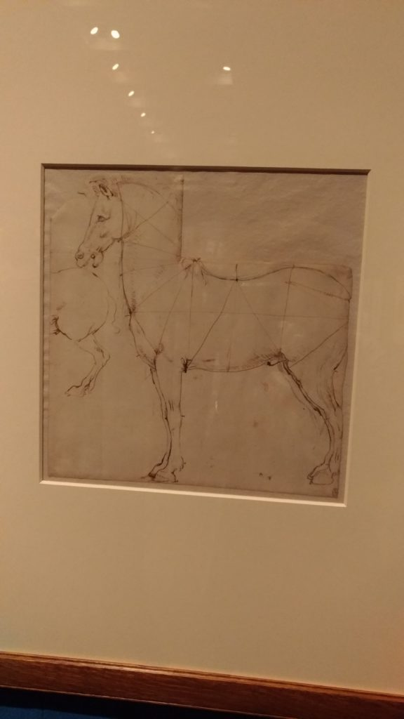 Seen in London, at a Leonardo exhibition – just love his work